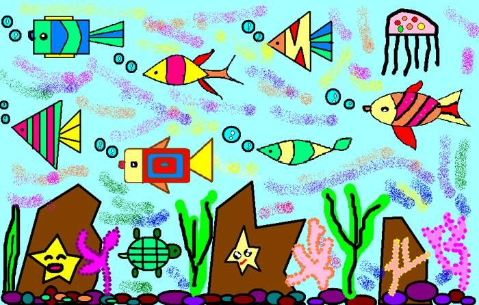 三年级13班画图作品